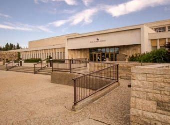 Entrance to the Royal Alberta Museum