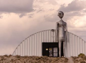 Photo of The Alien Research Center on the Extraterrestrial Highway