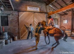 Stables at the Pony Express National Museum in St. Joseph, Missouri