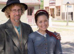 Costumed interpreters at Wichitas Old Cowtown