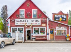 Nagleys Store in Talkeetna, Alaska