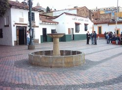 The fountain of Quevedo on the Chorro de Quevedo