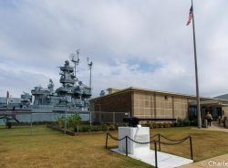 Battleship Memorial Park in Mobile Bay, Alabama