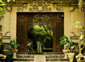Entrance to the Bali Zoo