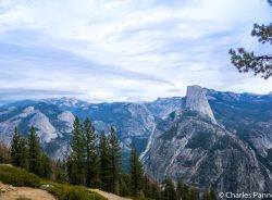 View from Washburn Point in Yosemite National Park