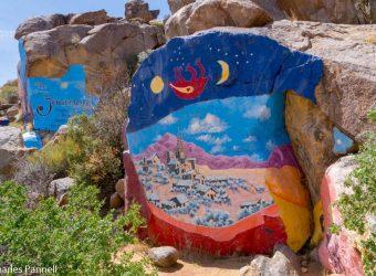 The Chloride Murals in Chloride, Arizona