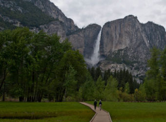 Yosemite Falls viewed from Cook