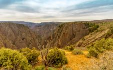 Tomichi Point at the Black Canyon of the Gunnison National Park
