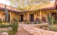 Courtyard at Cat Mountain Lodge