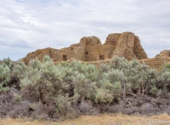 Ruins of the 900-year old great house at Aztec Ruins National Monument