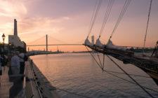 savanah-waterfront-sunset