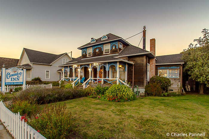 The Country Inn B&B in Fort Bragg, California