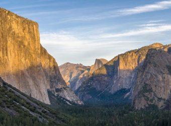 Yosemite Valley viewed from the Wawona Tunnel overlook
