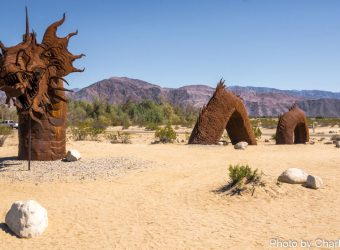 #50 foot long serpent at Borrego Springs