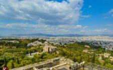 Panorama of Athens, Greece