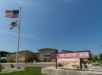 Outside view of the Fossil Discovery Center of Madera County